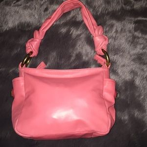 Super cute mini hot pink Coach purse!